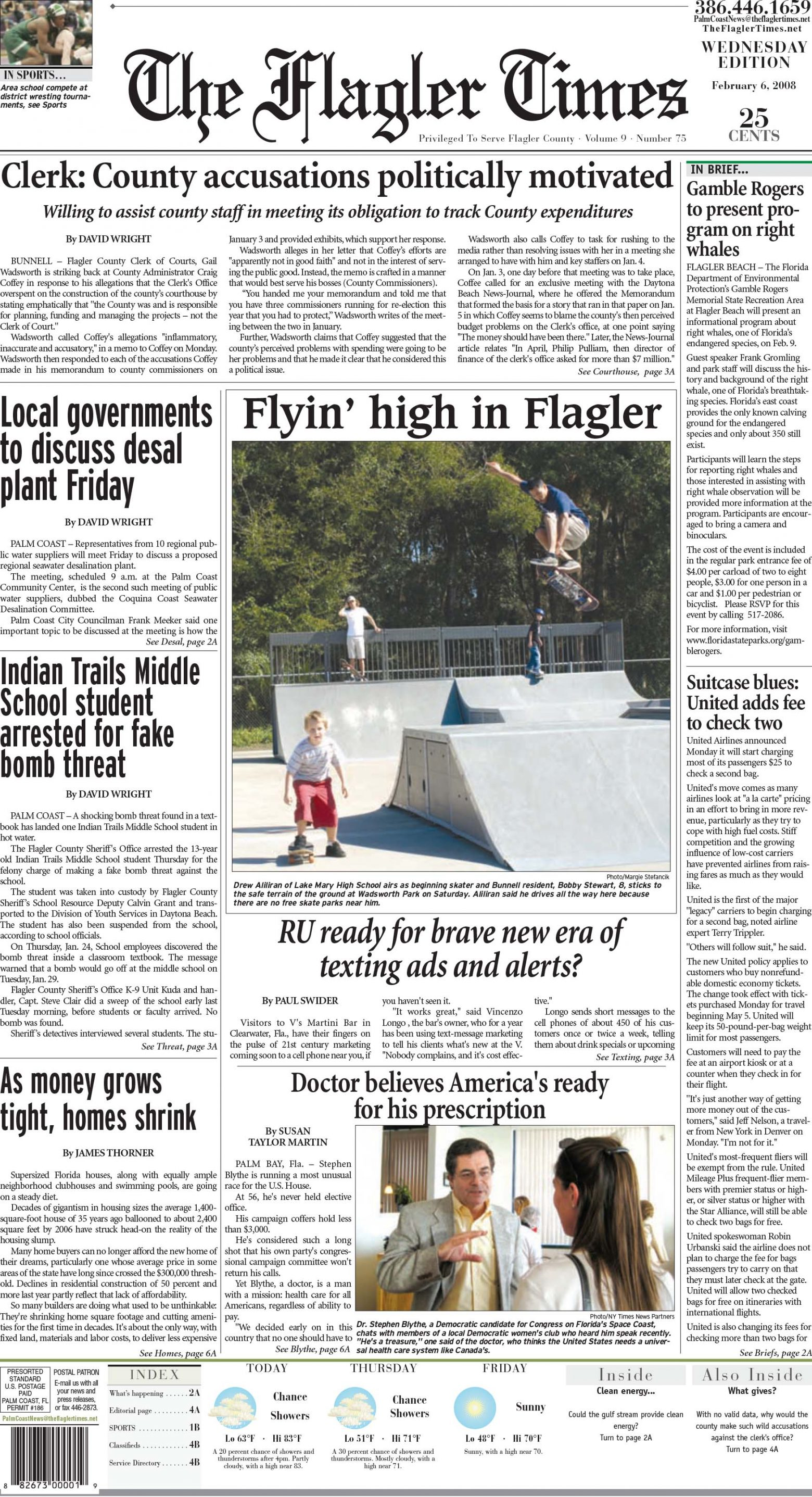 The Flagler Times
